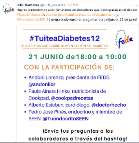 FEDE  Debate 21 de Junio